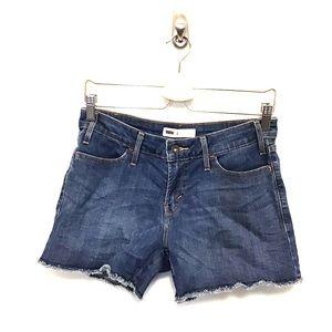 Levi's | frayed edge cutoff shorts